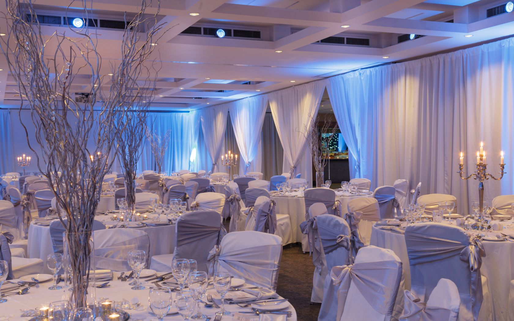 Castleknock Hotel Winter Themed setup
