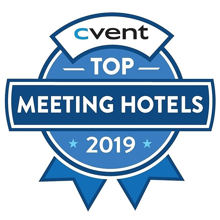 cvent top meeting hotels 2019 badge