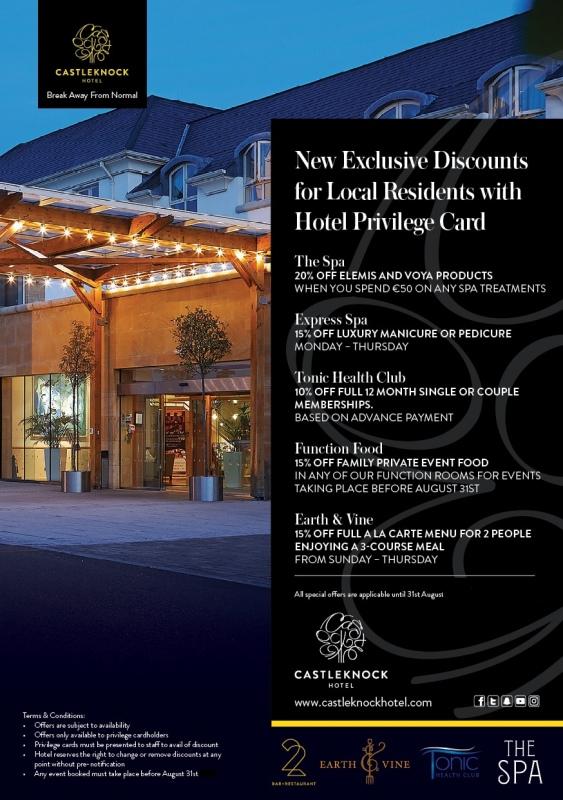 inkedcastleknock privilege card flyer oct 2019 min 1